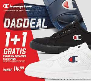 Champion sneakers + slippers 1+1 gratis + 10% extra @ Aktiesport