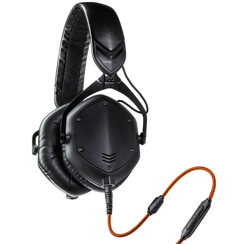 V-Moda Crossfade M-100 Matte Black DJ koptelefoon
