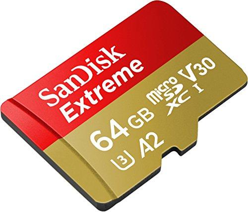 Sandisk Extreme - 64 GB MicroSD U3 A2 160MB/S