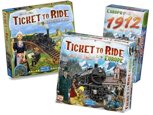 Bordspel Ticket to Ride bundel