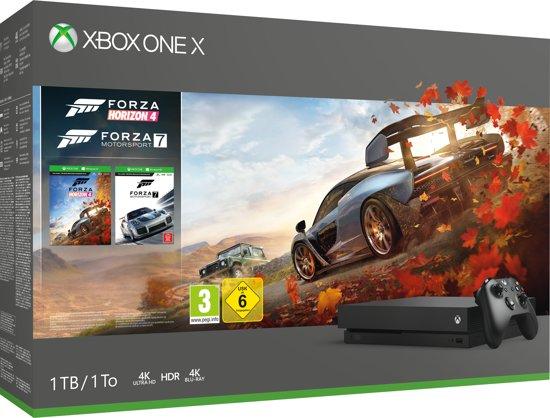 [Bol.com] €388: Xbox One X console 1 TB + Forza Horizon 4 + Forza Motorsport 7