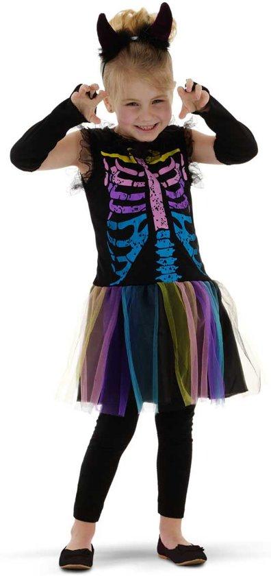 Carnavals/halloweenpakje voor kleine dametjes (3-5 jaar)
