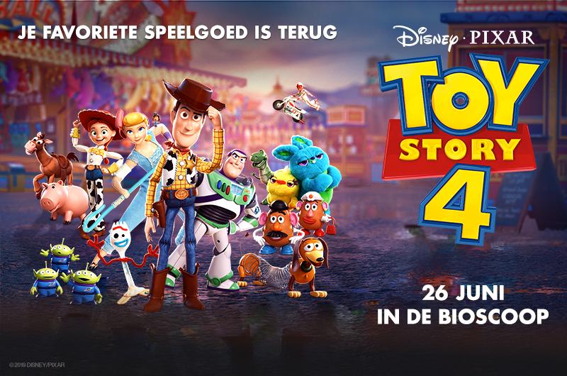 Exclusieve voorpremière Toy Story 4
