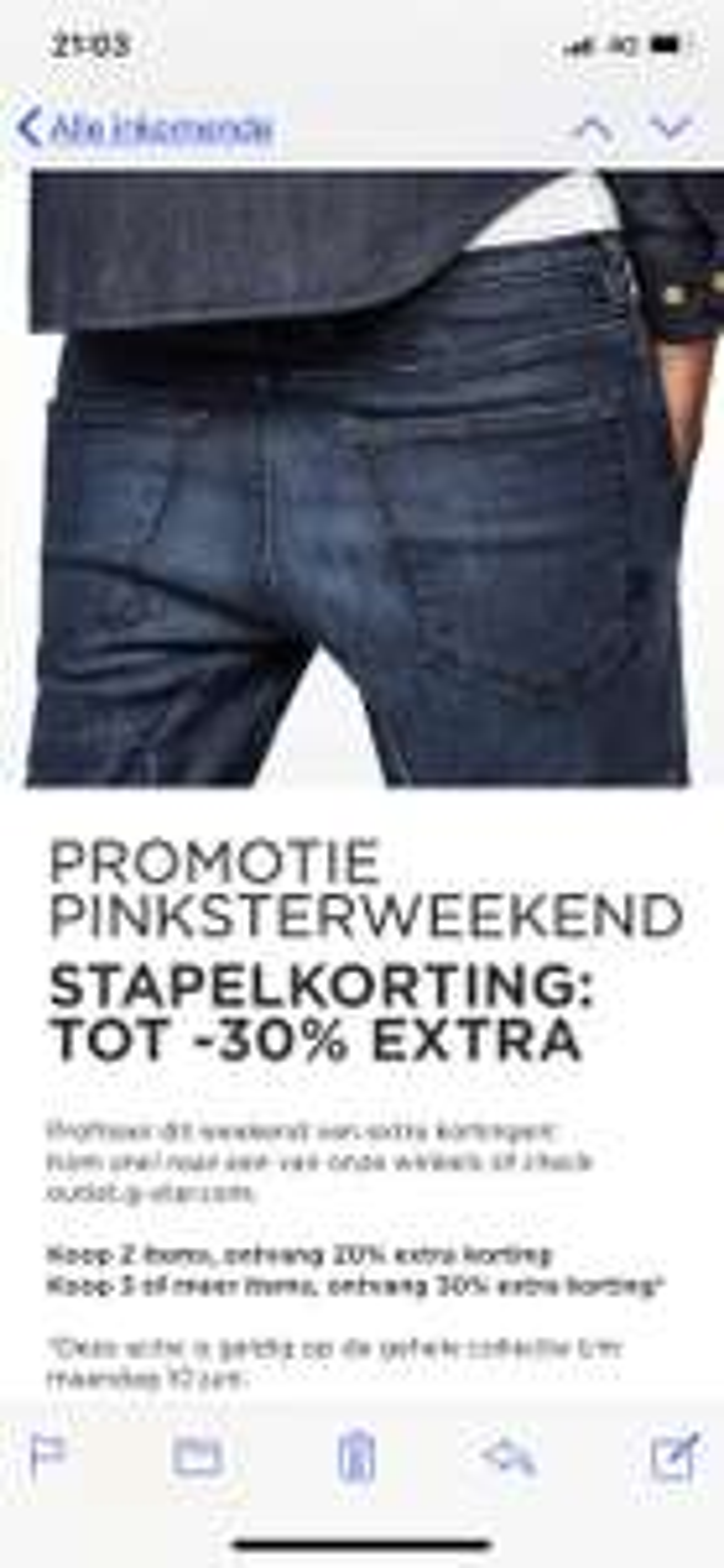 Promotie Pinksterweekend