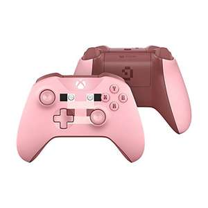 Xbox Wireless Controller Minecraft Rosa Limited Edition @Amazon.de