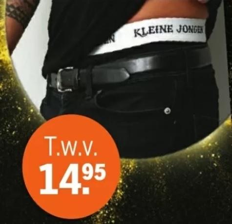 'Kleine Jongen' boxershort @ AH (winkel)
