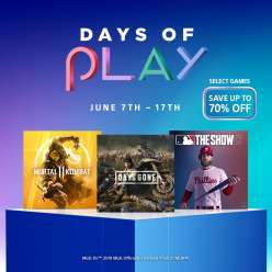Days of Play Sale (NBA 2K19 - $2,99/Detroit: Become Human - $7,99) @ PSN US