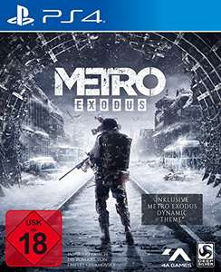 Metro Exodus (PS4 Day One Edition) @ Amazon.de