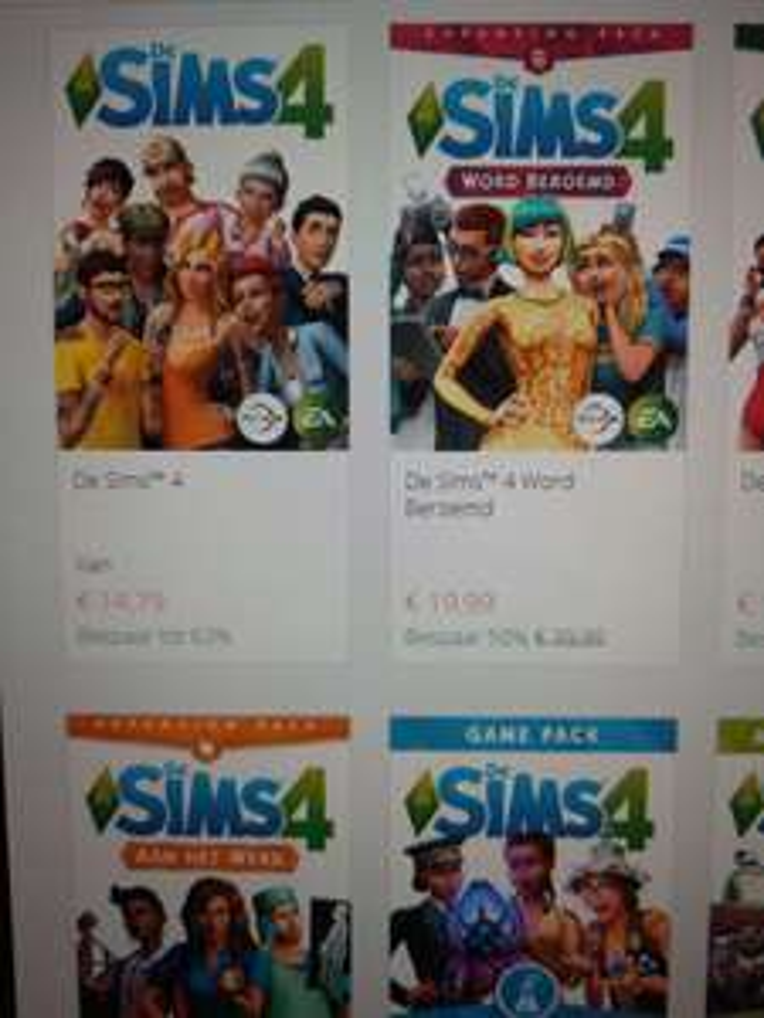 De Sims 4 aanbiedingen