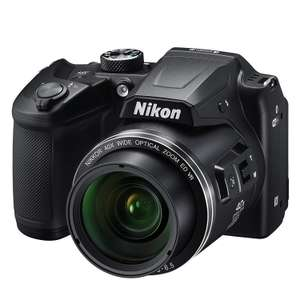 Nikon B500 Bridge (40x zoom; 22,5-900mm; 1080p video) voor €168 @ Amazon.co.uk