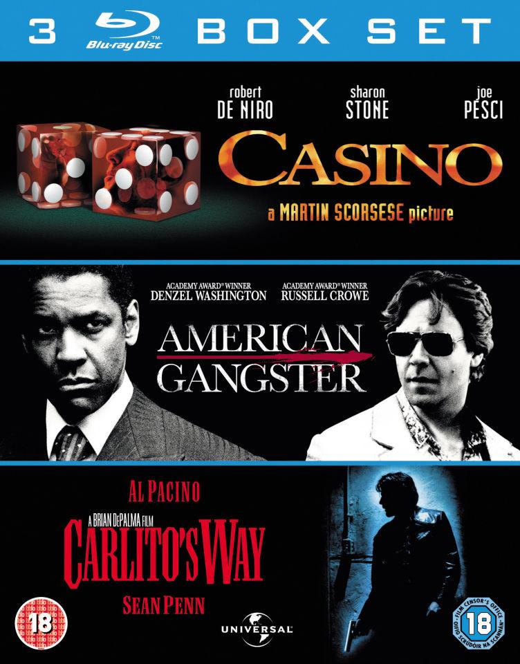 Casino / American Gangster / Carlito's Way (Blu-ray) voor € 6,98 @ Zavvi