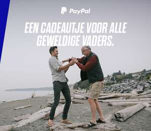 Shop met voordeel voor Vaderdag (A-dam Underwear, Boldking, Greetz) @ PayPal