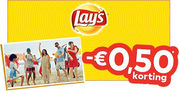 €0,50 cashback op Lays [In Nederland & als Grensdeal België]