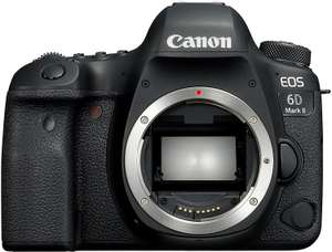 Canon EOS 6D Mark II Body (Full-Frame EF, 27MP, 1080p video) voor €1349 @ Amazon.de