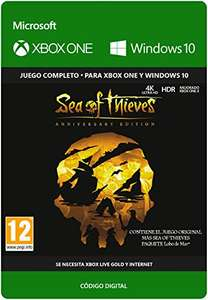 [Xbox One] Sea of Thieves: Anniversary Edition @Amazon.es