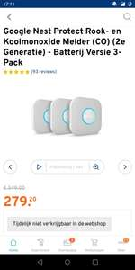 Google Nest Protect 3-pack (battery)