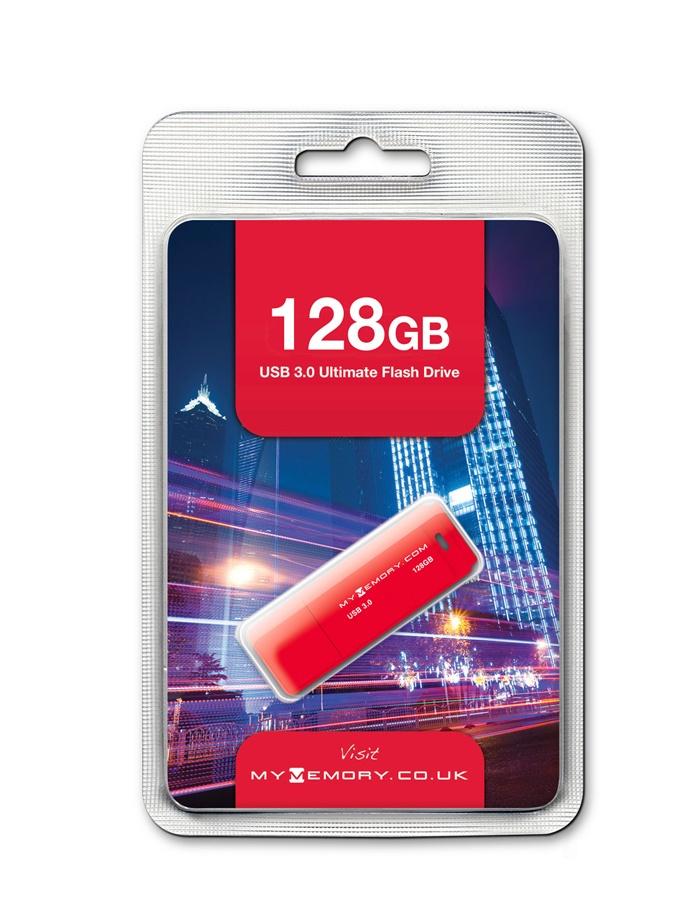 MyMemory 128GB USB 3.0 Stick voor €27,99 @ MyMemory.de