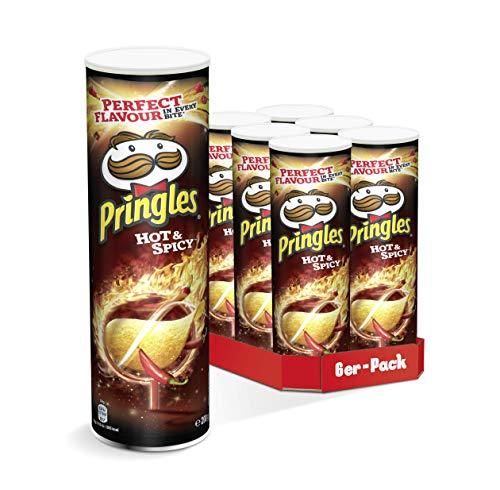 Diverse soorten Pringles 6 x 200g @Amazon.de