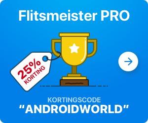 25% korting op Flitsmeister Pro
