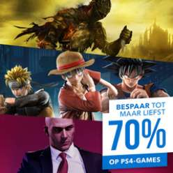 Tot 70% korting op PS4-games @ Playstation Store