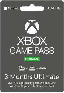 Xbox Live Game Pass Ultimate Online - 3 Maanden - Promo