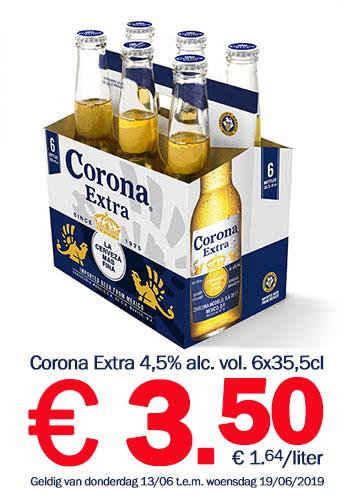 Grensdeal België - Corona vanaf €1,64 per liter