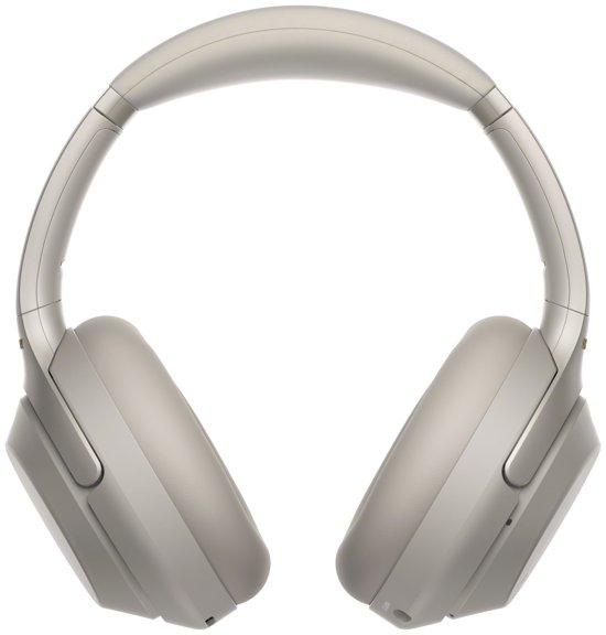 Sony WH-1000XM3 - Draadloze koptelefoon met Noise Cancelling - Zilvergrijs