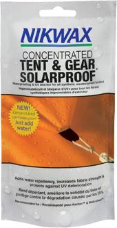Gratis zakje Nikwax Geconcentreerd Tent & Gear SolarProof 150 ml
