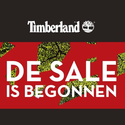 SALE tot -50% + 10% extra met code @ Timberland