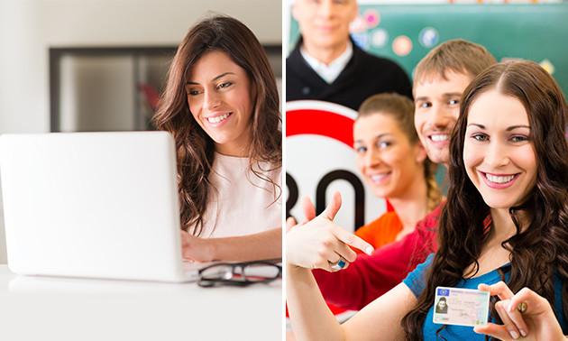 Online cursus voor het theorie-examen Auto