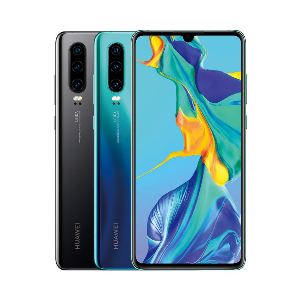 Huawei P30 6GB/128GB Zwart @ Belsimpel