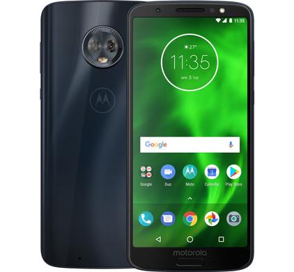 Motorola Moto G6 - Deep Indigo (Dual-SIM) @ Lenovo Store