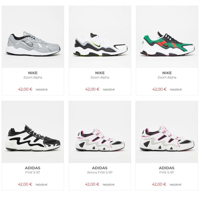 Nike Zoom Alpha // adidas FYW S-97 -70% = €53,87 (incl verzending) @ Solebox
