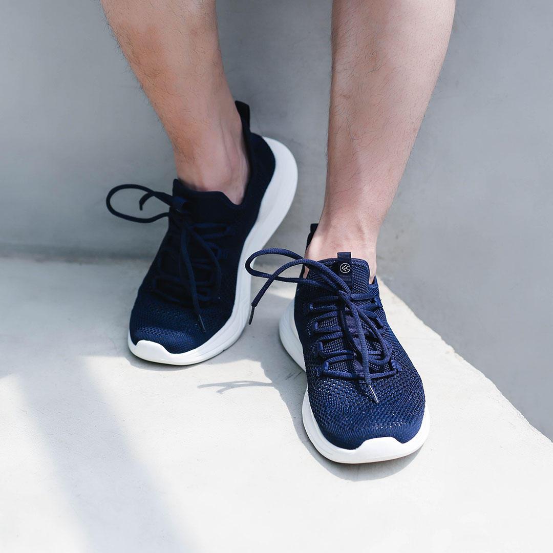 Xiaomi FREETIE Fly Knit Mannen Sneakers Honeycomb Ademende Ultralight hoge elastische EVA Sports Running Shoes