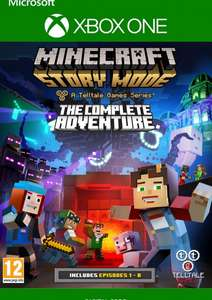 Minecraft Story Mode Complete Adventure Xbox One @cdkeys.com