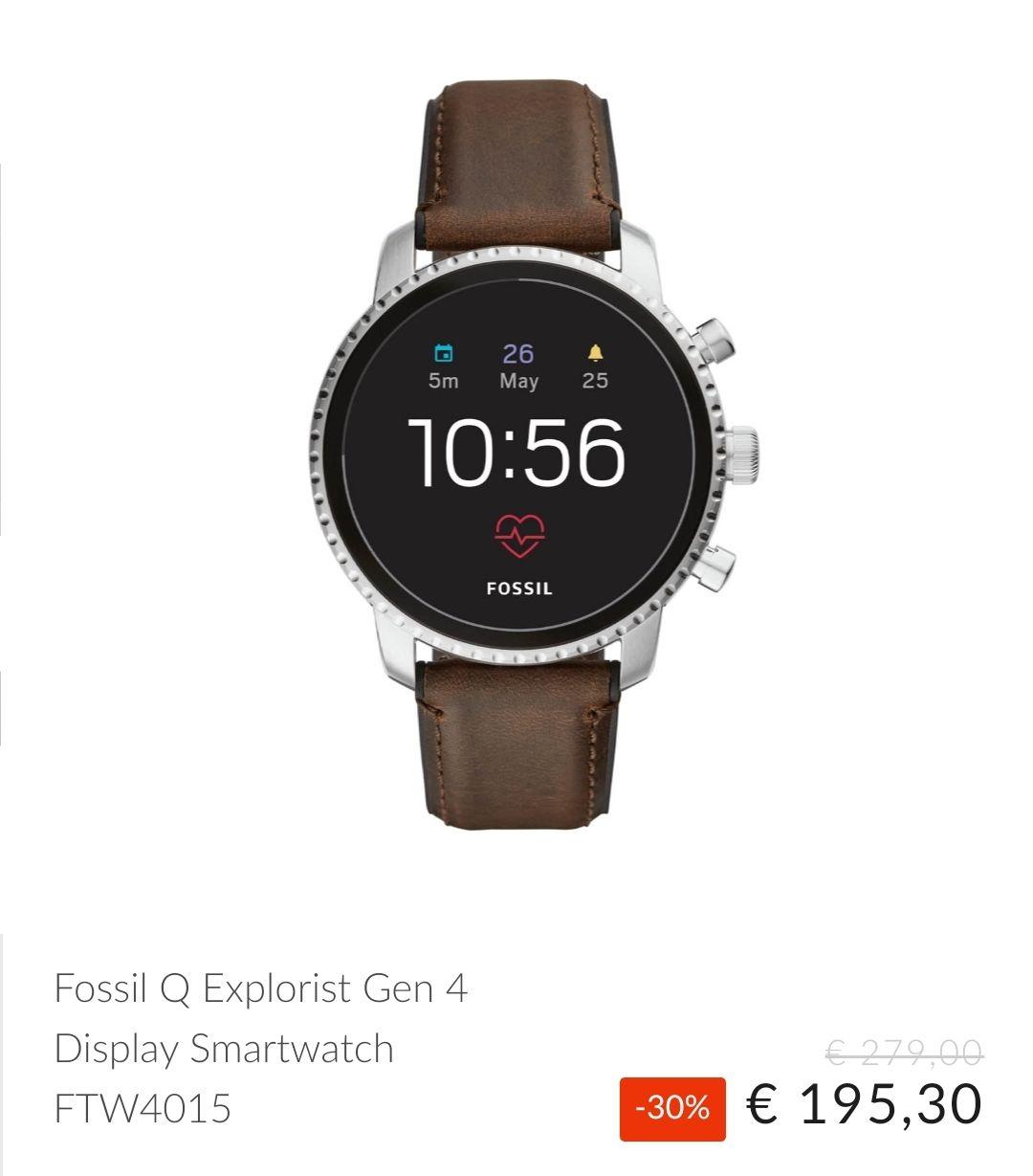 Fossil Q Explorist ftw4015 (gen 4) Smartwatch