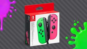 Nintendo Switch Joy-Con 1-Set Green緑-pink