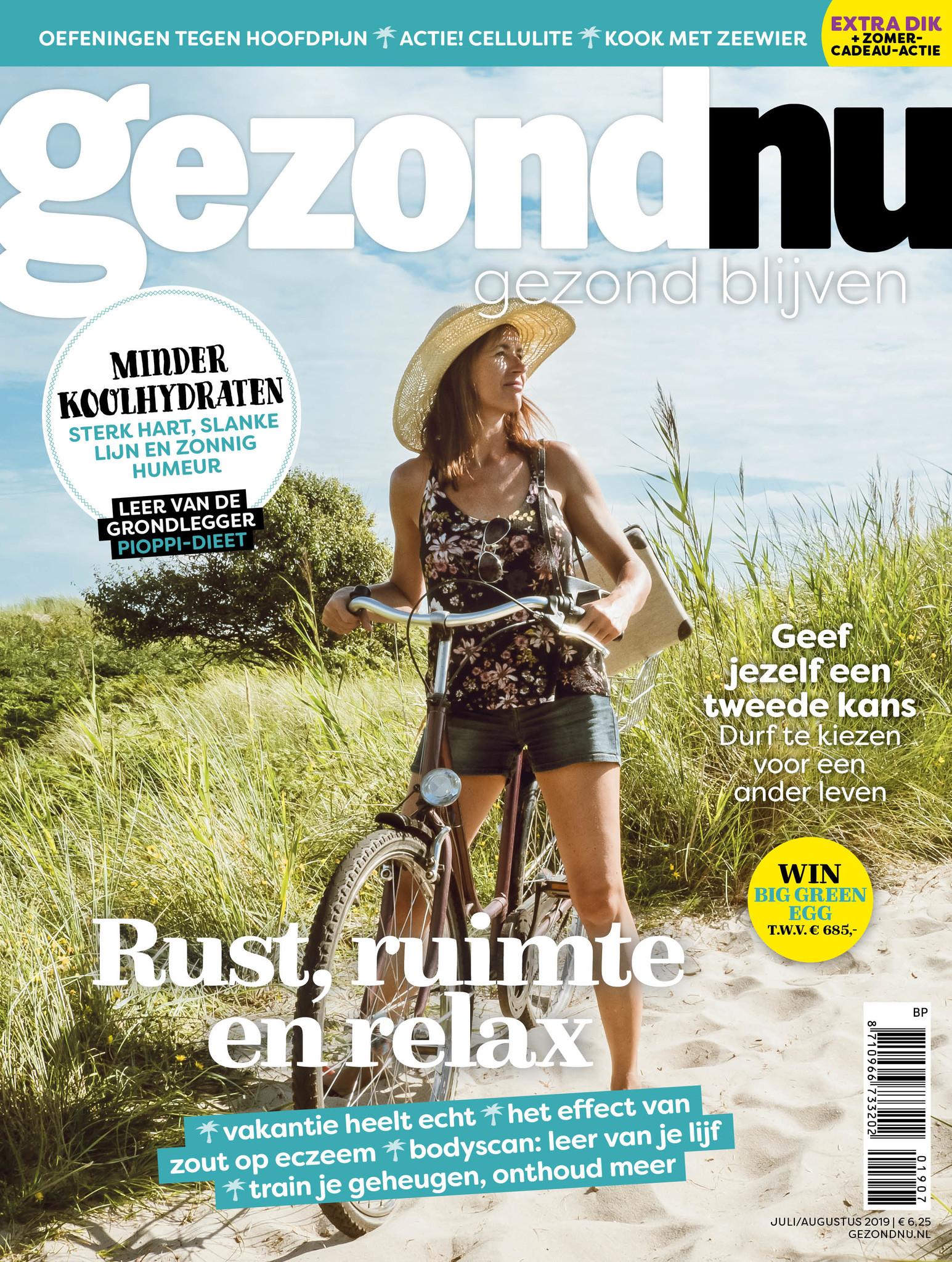 gezondNU magazine + 'gratis' naar de sauna (o.a. het nieuwe Thermen Berendonck)