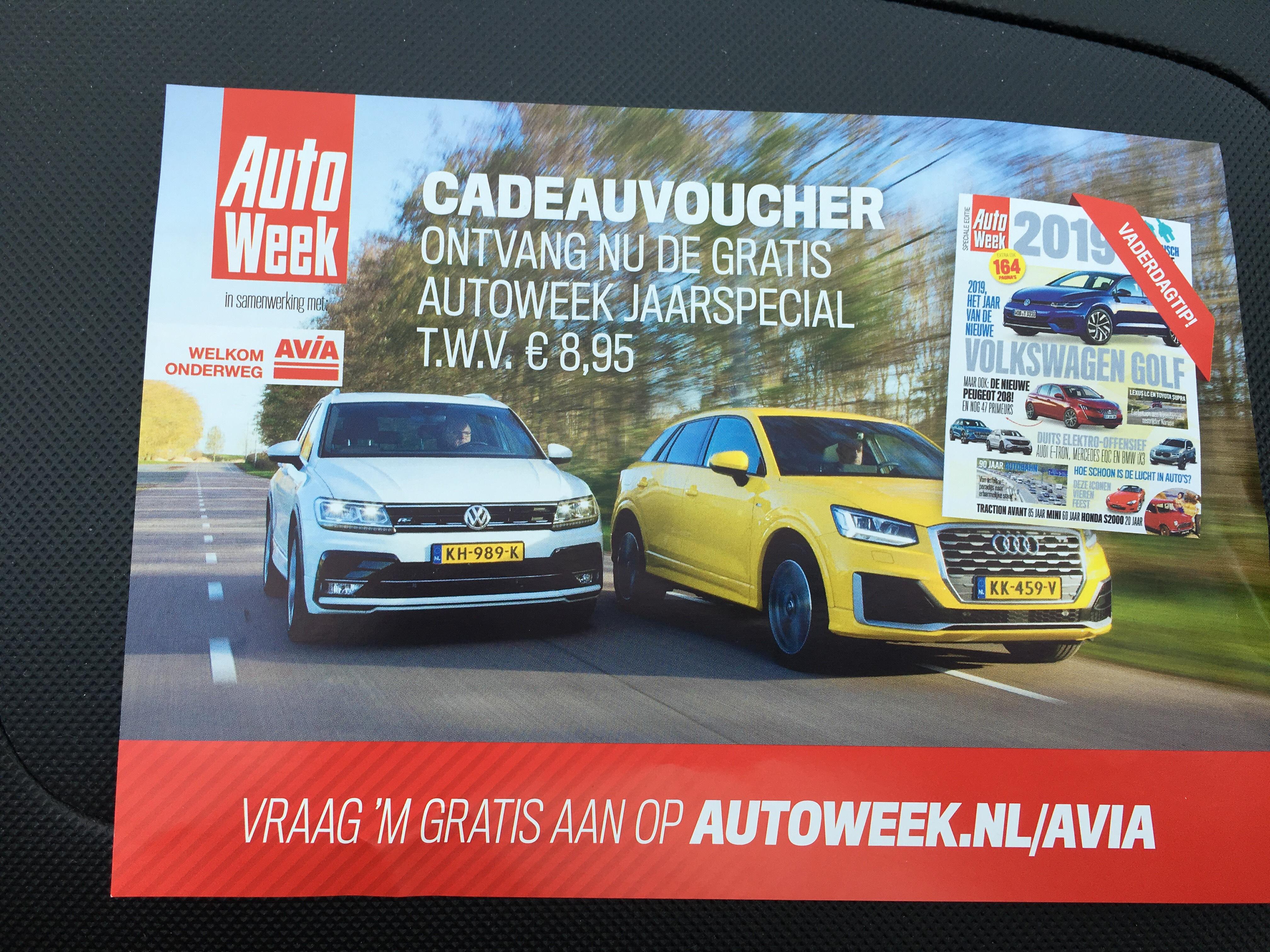 Gratis Autoweek Jaarspecial t.w.v. 8,95