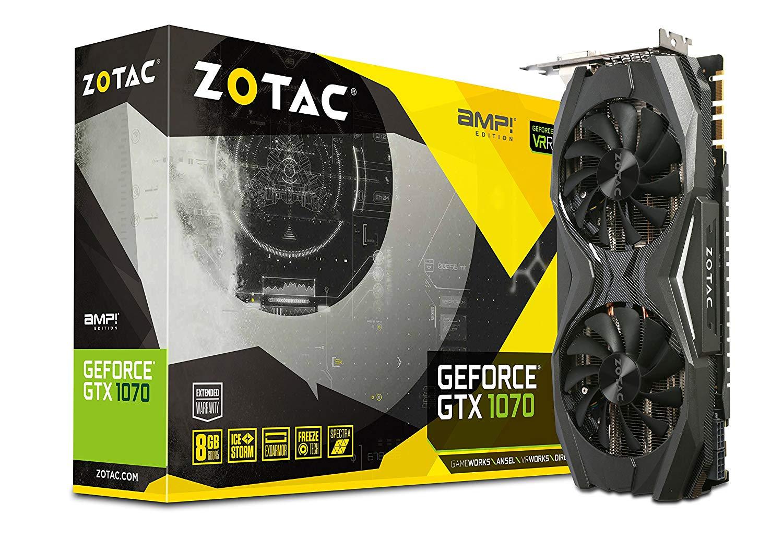 ZOTAC GTX 1070 AMP! 8GB GDDR5