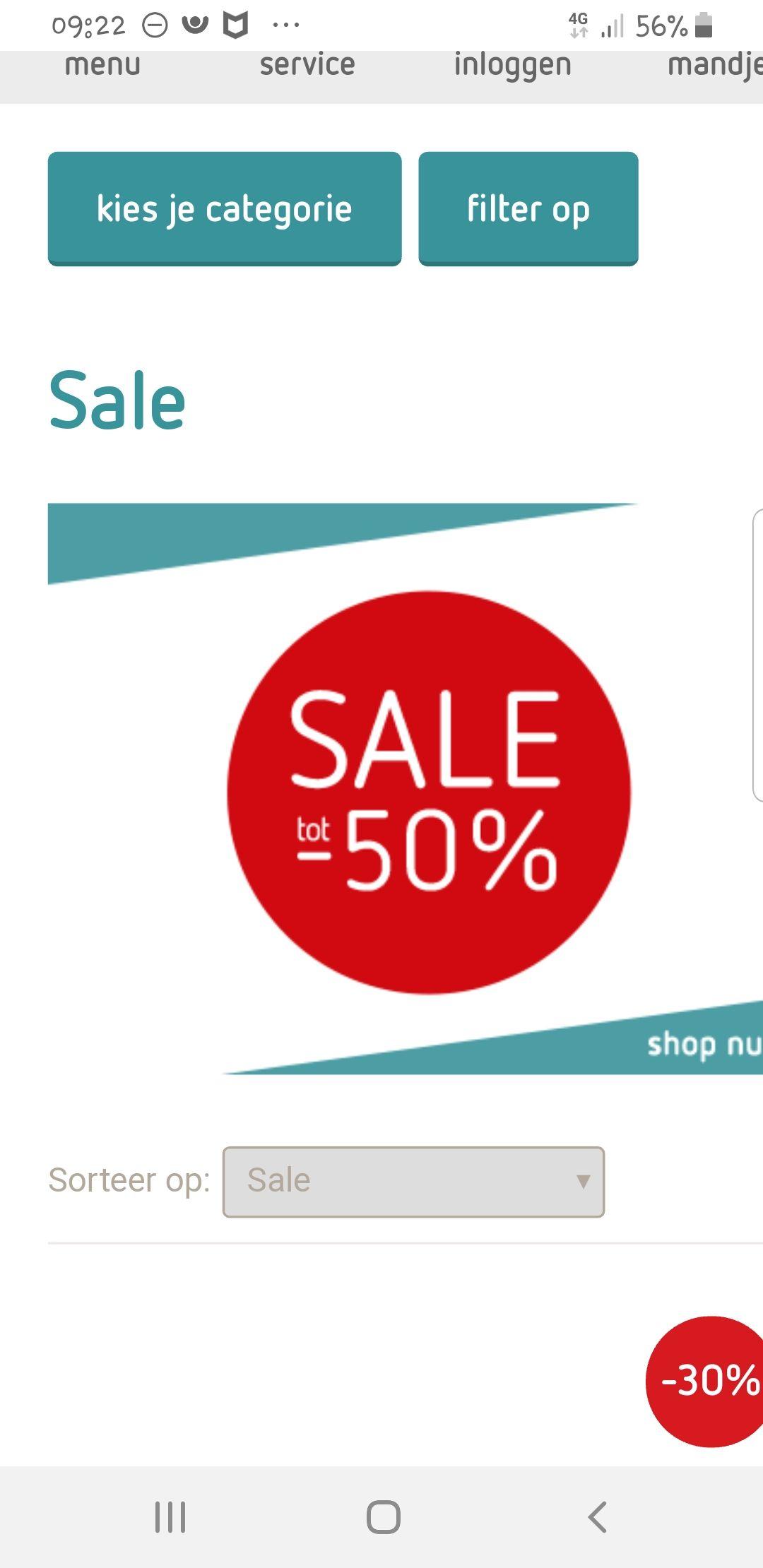 Kinderkleding tot 50% sale
