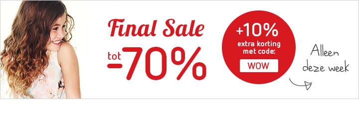 [UPDATE: NU 15% EXTRA korting met code] Tot 70% korting op merk kinderkleding en schoenen @ Kleertjes.com