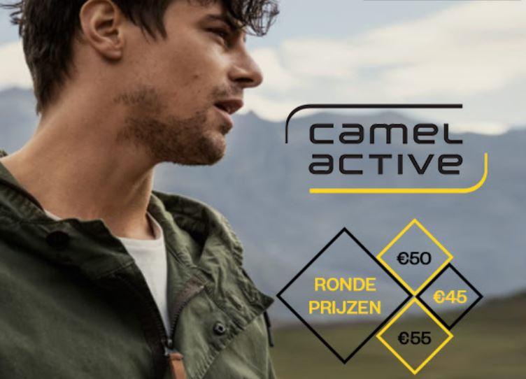 Camel Active herenjassen ronde prijzen: €45-€80 @ Maison Lab