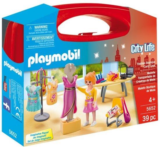 Playmobil City Life Fashion Boutique Carry Case @ Kruidvat