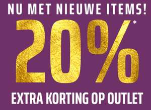Outlet (tot -80%) met code 20% EXTRA korting @ Forever21
