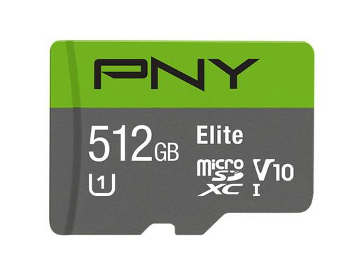PNY 512gb micro SD; Alleen vandaag
