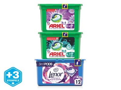 Ariel, Lenor of Dash Pods 3 pakken
