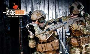 2,5 uur paintball of 3 uur Airsoft  voor 1 persoon €2,95@tripper
