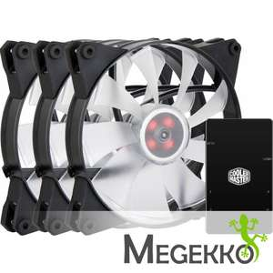 Cooler Master MasterFan Pro140 Air Flow 3 In 1 RGB @ Megekko