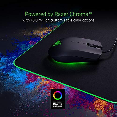 Razer rz02 – 02500300-r3 m1 RGB Gaming mausmatte Zwart